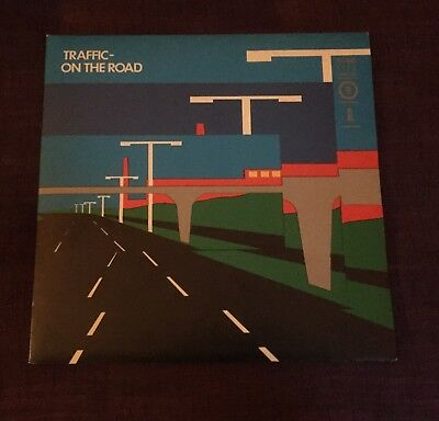 Traffic – On The Road - MONSTER PROG/JAZZ ROCK 2xLPs ARCHIVE COPY