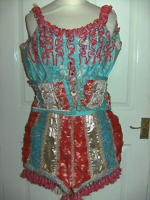 Ladies Victorian Original Barnum Circus Costume Theatrical By Bermans And Nathan