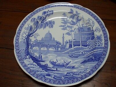 Spode 'Blue Room Collection' plate 'Rome'
