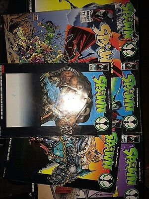 Spawn comics lot of 6