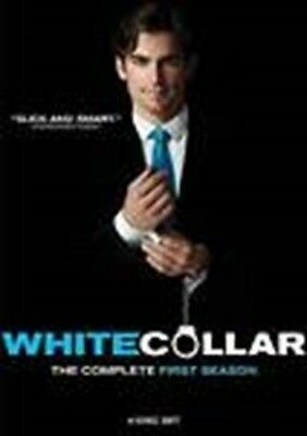 White Collar: The Complete First Season (DVD, 2010, 4-Disc Set) New Sealed