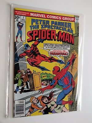 Spectacul Spider-Man 1 (Dec 1976, Marvel) Great Copy - VF+ 8.5 Bronze Age Key!