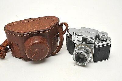 """Konishiroku SNAPPY subminiature Camera """"MADE IN OCCUPIED JAPAN"""" w/Case"""