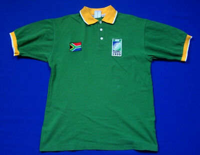 SOUTH AFRICA WORLD CUP 1999 RUGBY SHIRT M Jersey Trikot Camiseta Maglia Official