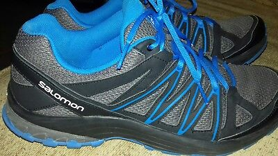 Mens Salomon Boncliff Trail Running Shoes Size 11