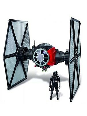 Star Wars Hasbro VAISSEAU TIE FIGHTER RED EP7 ROGUE ONE avec TIE Pilote