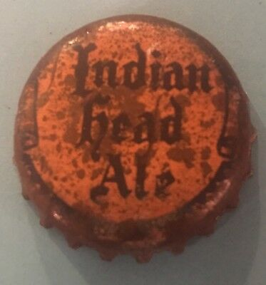 Iroquois Indian Ale Head Cap Crown, Vintage Buffalo NY Beer