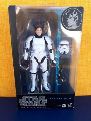 "Star Wars The Black Series 6"" #09 HAN SOLO STORMTROOPER"
