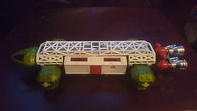 Vintage Dinky 359 Space 1999 Eagle Transporter Red Rockets Red Boosters Anderson