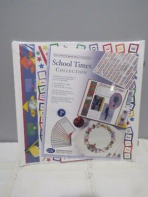 NEW Creative Memories 12 x 12 School Times Collection Pages
