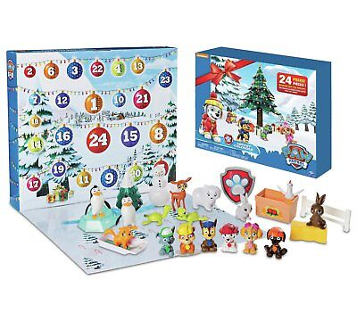 Paw Patrol Christmas Advent Calendar Xmas Kids Girls Boys Toy Gift