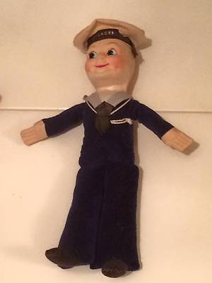 """Nora Wellings Sailor doll 1930's """" Orcades cruise souvenir"""" made by Empire Toys"""