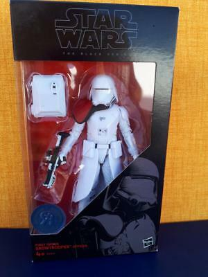 "Star Wars The Black Series 6"" FIRST ORDER SNOWTROOPER"