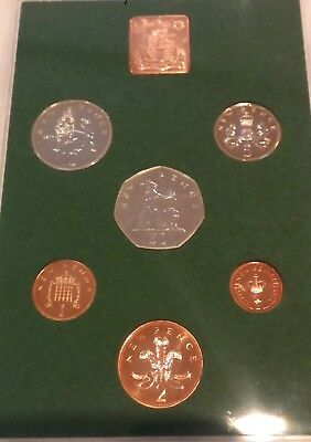 UK 1975 Proof Coinage Great Britain and Northern Ireland