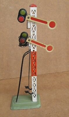 Lionel manual double semaphore signal