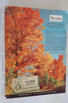 Vintage 1971 Sears Roebuck & Company Fall/Winter Catalog