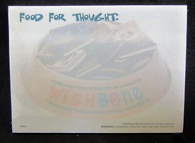 Wishbone PBS Dog Post-it Note Dog Bowl Food Pack Jack Russell Terrier