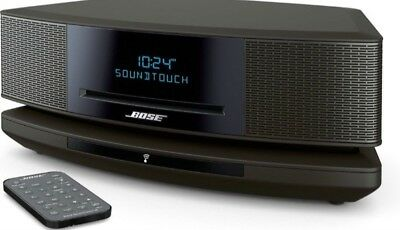 NEW Bose Wave SoundTouch Music System IV Remote,CD Player/Radio Espresso Black