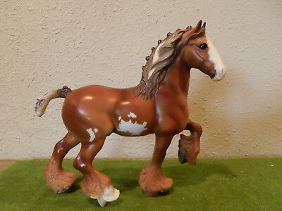 "Breyer classic Shire Draft horse ""Tristan"""