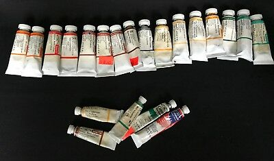 Winsor & Newton Watercolor Paint Lot - 16 Total, Most Near Full Plus FREE Smalls