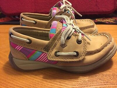 Sperry Girls Toddler Shoes Size 9