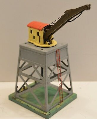 Lionel Lines 165 Pre War Gray Superstructure Operating Crane With Brown Boom