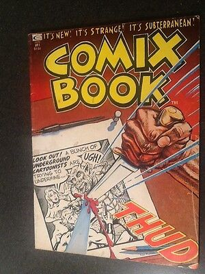 Comix Book #1 (1974, Marvel), by Deitch, Trina, and others. Fine- Condition.