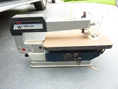 "Ryobi 16"" Scroll Saw - MADE IN TAIWAN"