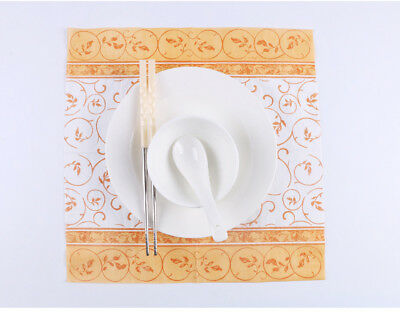 Classic Series 20 Pcs Of Each Pack Party Paper Napkin 33X33CM 2 Ply Pattern 17