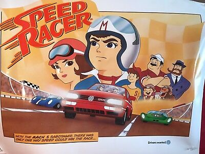 New Limited Edition Speed Racer 40X30 Poster
