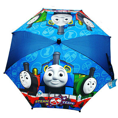 THOMAS TRAIN & FRIENDS Percy James STEAM TEAM UMBRELLA Molded Handle Rain Gear