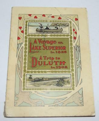 Duluth, South Shore & Atlantic Railroad Travel Book - A TRIP TO DULUTH IN 1902