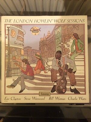 """""""the London Howlin Wolf Sessions"""" 1990 Mca"""
