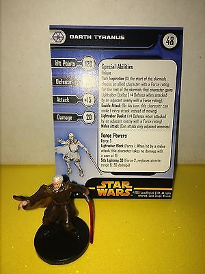 Star Wars Revenge of the Sith #29 Darth Tyranus (R)