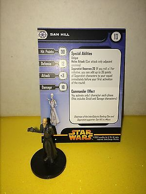Star Wars Revenge of the Sith #37 San Hill (R)