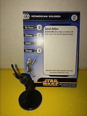 Star Wars Revenge of the Sith #35 Neimoidian Soldier (U)