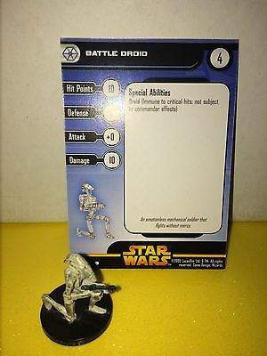 Star Wars Revenge of the Sith #25 Battle Droid (C)