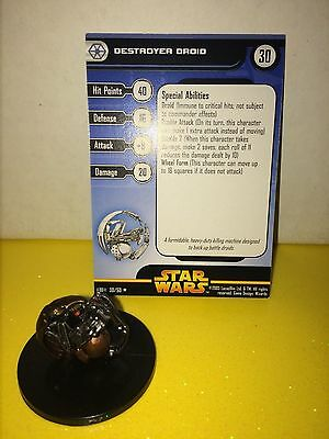 Star Wars Revenge of the Sith #30 Destroyer Droid (R)