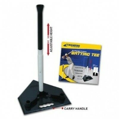 Champro Three Position Batting Tee (Black). Free Delivery