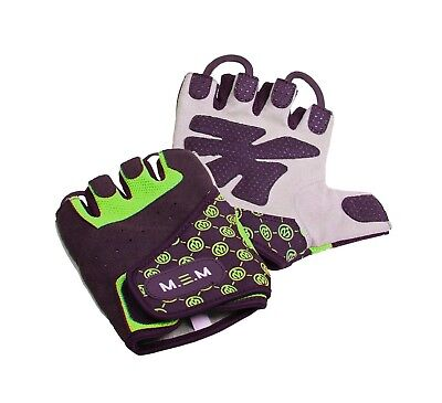 (Medium, Green) - M.E.M Fitness Women's Xtreme Fit Gloves. Brand New