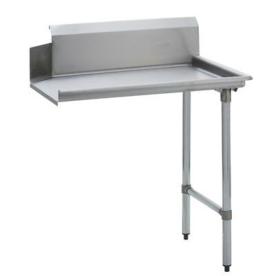 Stainless Steel Commercial Kitchen Clean Dish Table – Right Side – 30 x 48  S/S