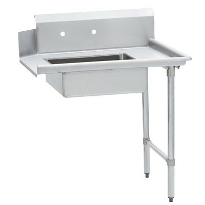 Commercial Kitchen Stainless Steel Soiled Dish Table – Right Side – 30 x 48 G