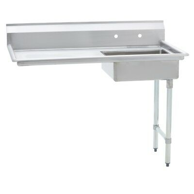 Stainless Steel Commercial Undercounter Dish Table – Right Side –  30 x 52 G