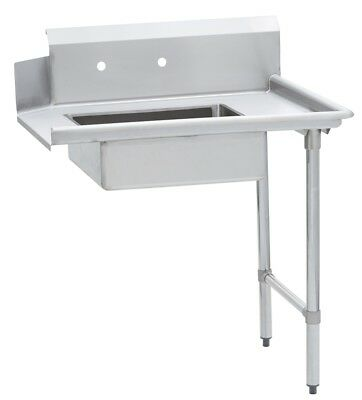 Commercial Kitchen Stainless Steel Soiled Dish Table – Right Side – 30 x 72 S/S