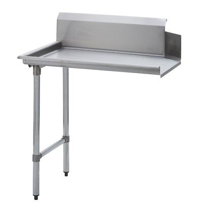 Stainless Steel Commercial Kitchen Clean Dish Table – Left Side – 30 x 48 S/S