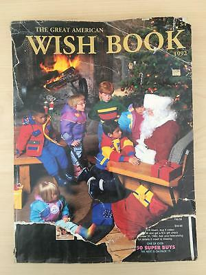 Sears Wish Book Catalog 1992 + Summer 1993 + JC Penney 1992