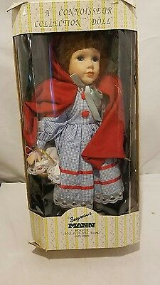 SEYMOUR MANN'S CONNOISSEUR DOLL COLLECTION  16 In. RED RIDING HOOD STORYBOOK NIB
