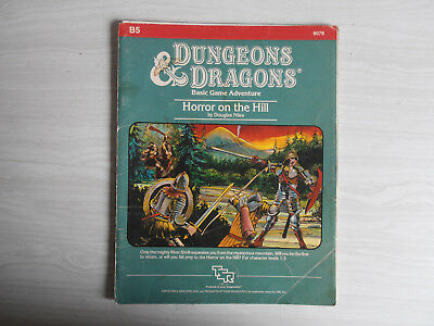 Dungeons and Dragons Horror on the Hill