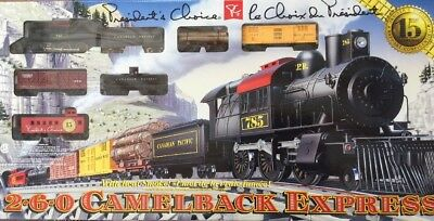 HO scale train, 2-6-0 Camelback Express (President's Choice Set)
