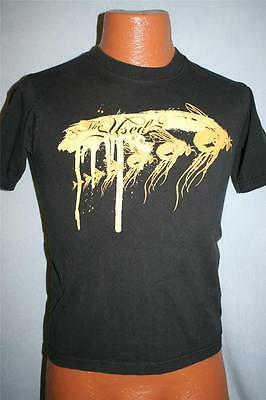 THE USED Yellow Flys T-SHIRT Youth Kids Medium ROCK Emo